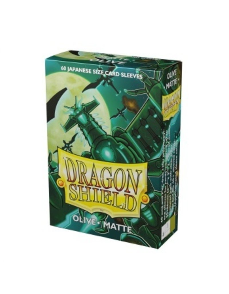 Dragon Shield Dragon Shield Small Matte Sleeves Olive