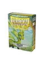 Dragon Shield Dragon Shield Standard Sleeves - Matte Olive (60 Sleeves)