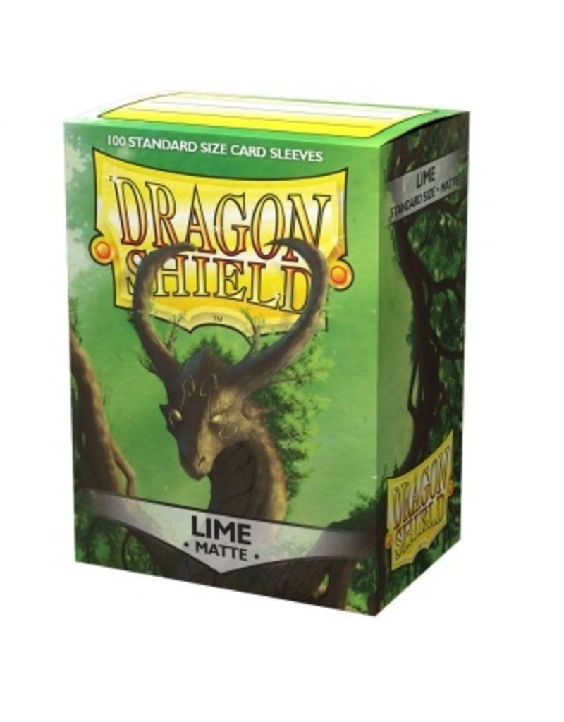 Dragon Shield Dragon Shield Standard Matte Sleeves - Lime (100 Sleeves)