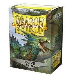 Dragon Shield Dragon Shield Standard Matte Sleeves - Olive (100 Sleeves)