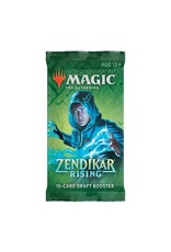 Magic The Gathering Zendikar Rising Draft Booster Pack MTG