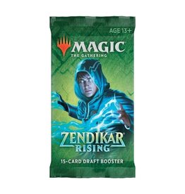 Magic The Gathering Zendikar Rising Draft Booster Pack MTG