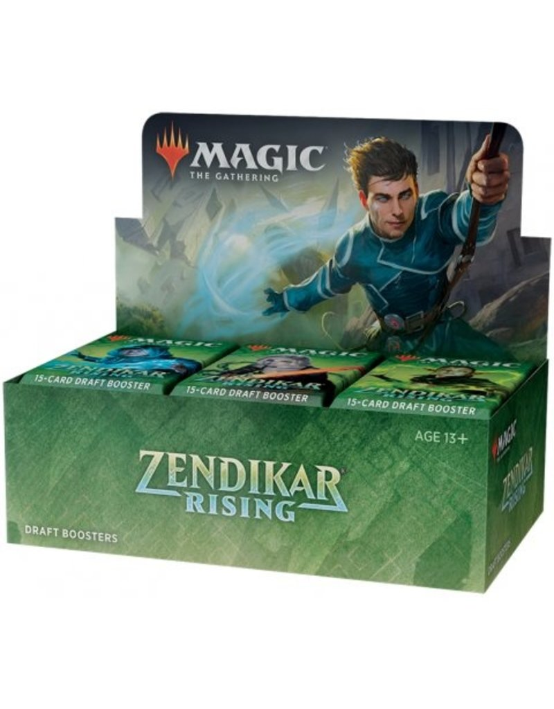 Magic The Gathering Zendikar Rising Draft Booster Box MTG