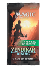 Magic The Gathering Zendikar Rising Set Booster Pack MTG