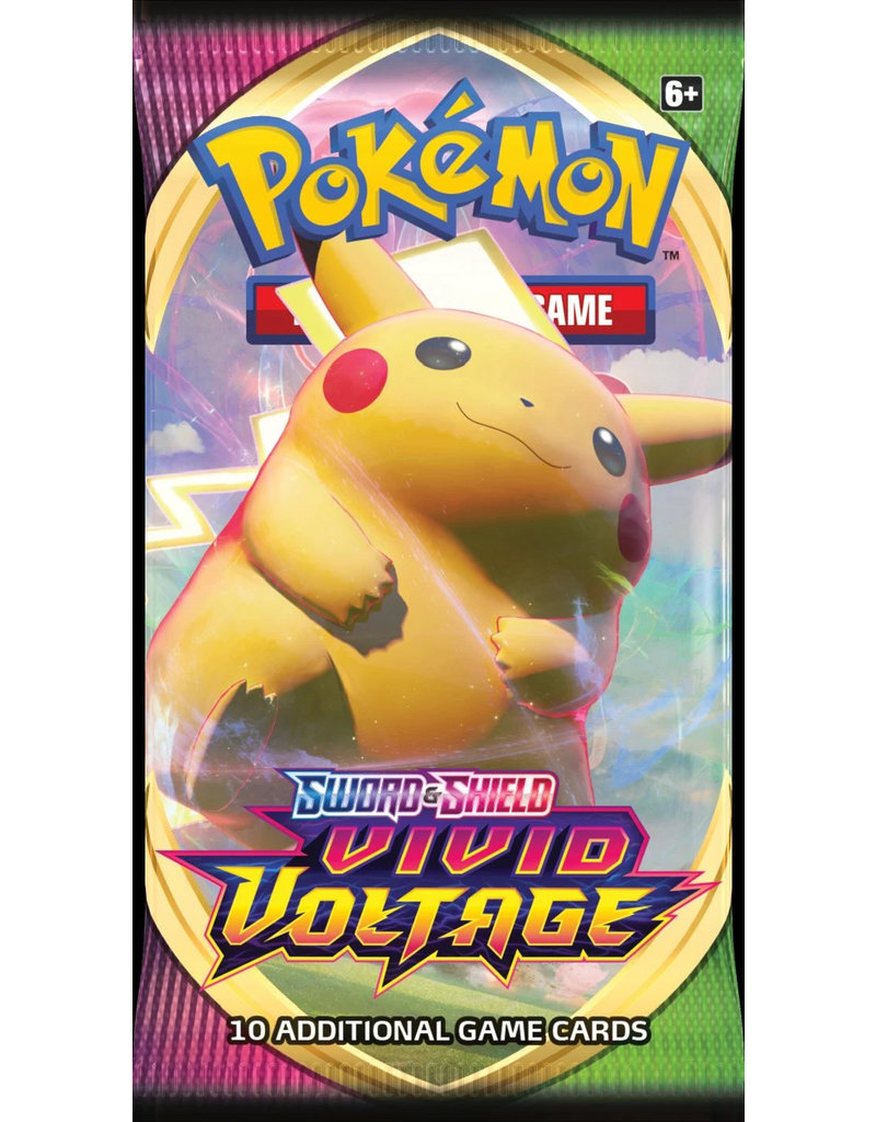 The Pokémon Company Pokemon Sword & Shield Vivid Voltage Booster Pack
