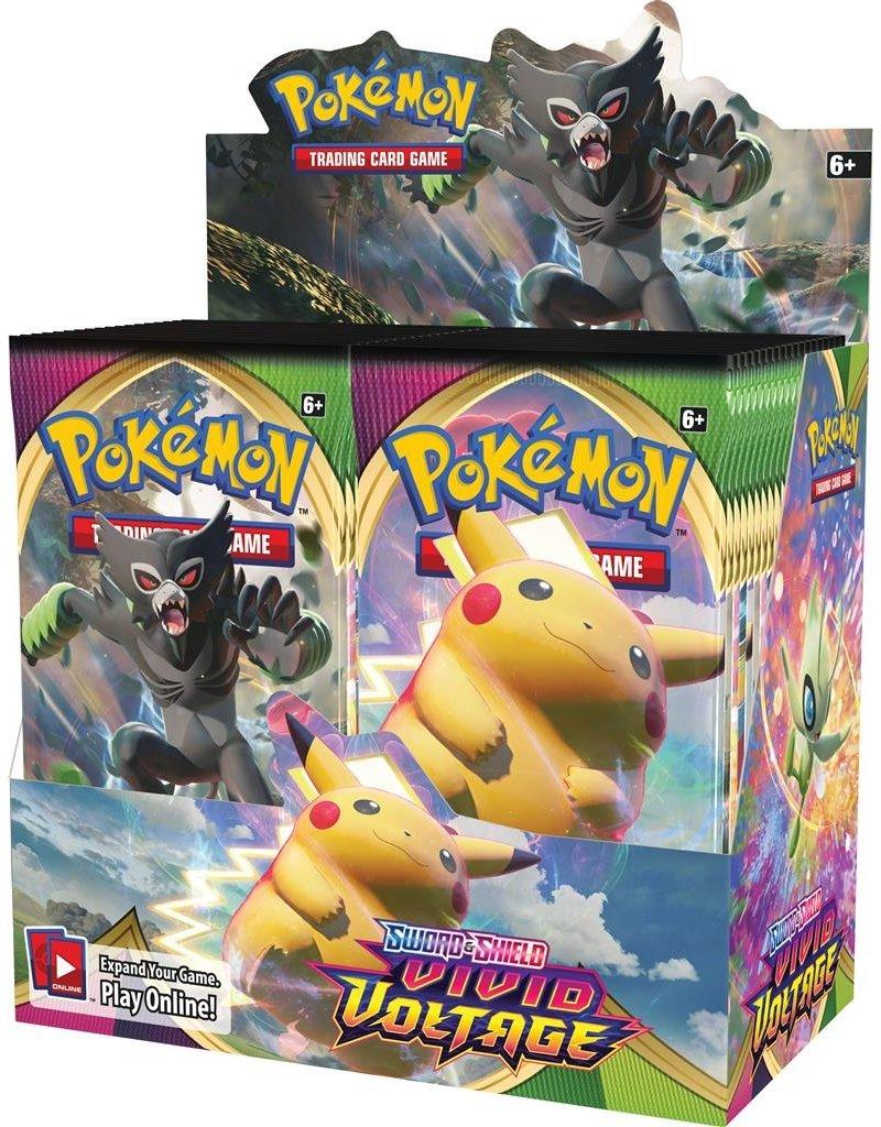 The Pokémon Company Pokemon Sword & Shield Vivid Voltage Booster Box