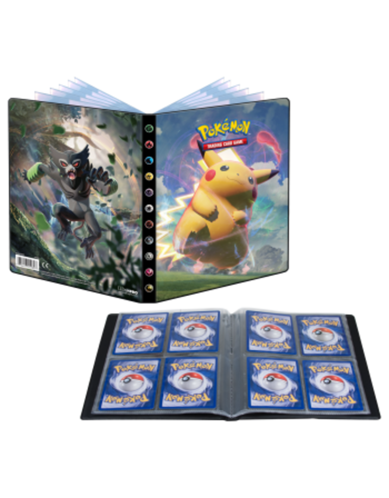 The Pokémon Company Pokemon Sword and Shield 4 Vivid Voltage 4-Pocket Portfolio