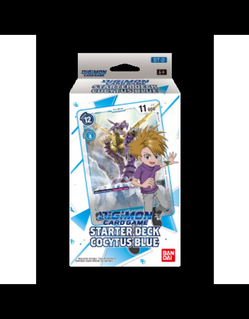 Digimon Digimon Card Game - Starter Deck Cocytus Blue ST-2