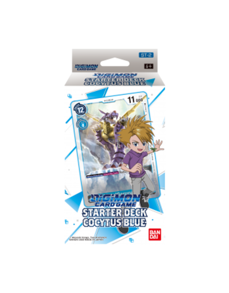 Digimon Digimon Card Game - Starter Deck Display Cocytus Blue ST-2