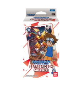 Digimon Digimon Card Game - Starter Deck Display Gaia Red ST-1