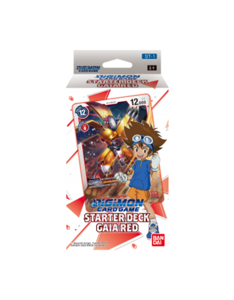 Digimon Digimon Card Game - Starter Deck Gaia Red ST-1