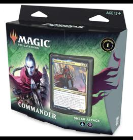 Magic The Gathering Zendikar Rising Sneak Attack Commander Deck MTG