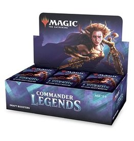 Magic The Gathering Pre-Order: Commander Legends Draft Booster Box MTG