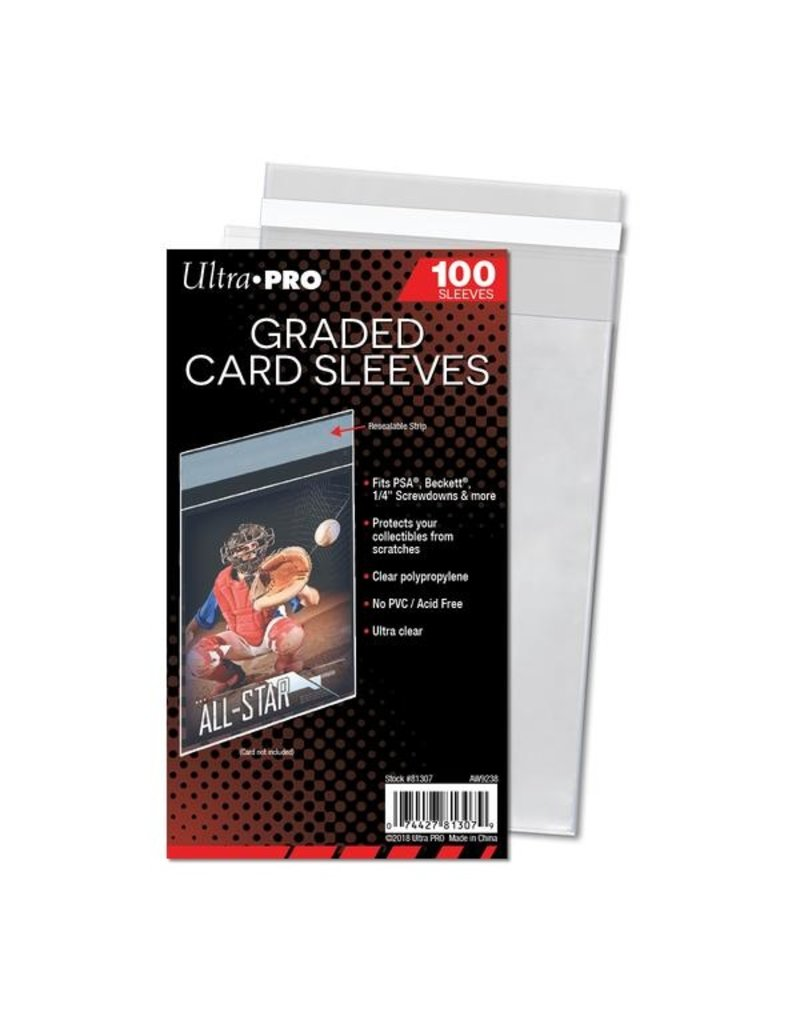 Ultra Pro Graded Card Sleeves Resealable Ultra Pro