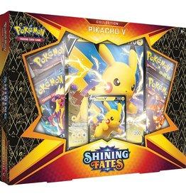 The Pokémon Company Pokemon Sword & Shield 4.5 Shining Fates Pikachu  V Box (February V)