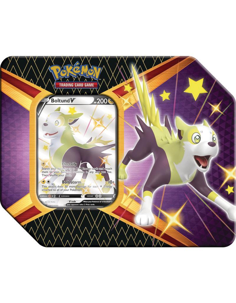 The Pokémon Company Pokemon Sword & Shield 4.5  Shining Fates Boltund V Tin