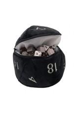 Ultra Pro D20 Plush Dice Bag - Black Ultra Pro