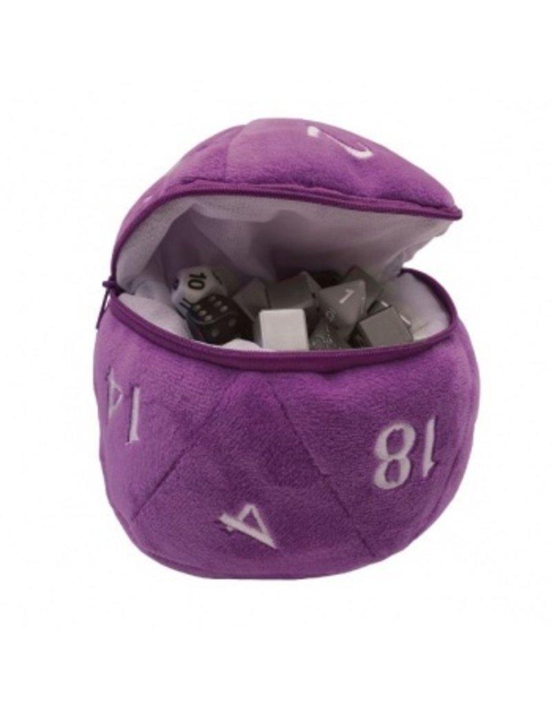 Ultra Pro D20 Plush Dice Bag - Purple Ultra Pro