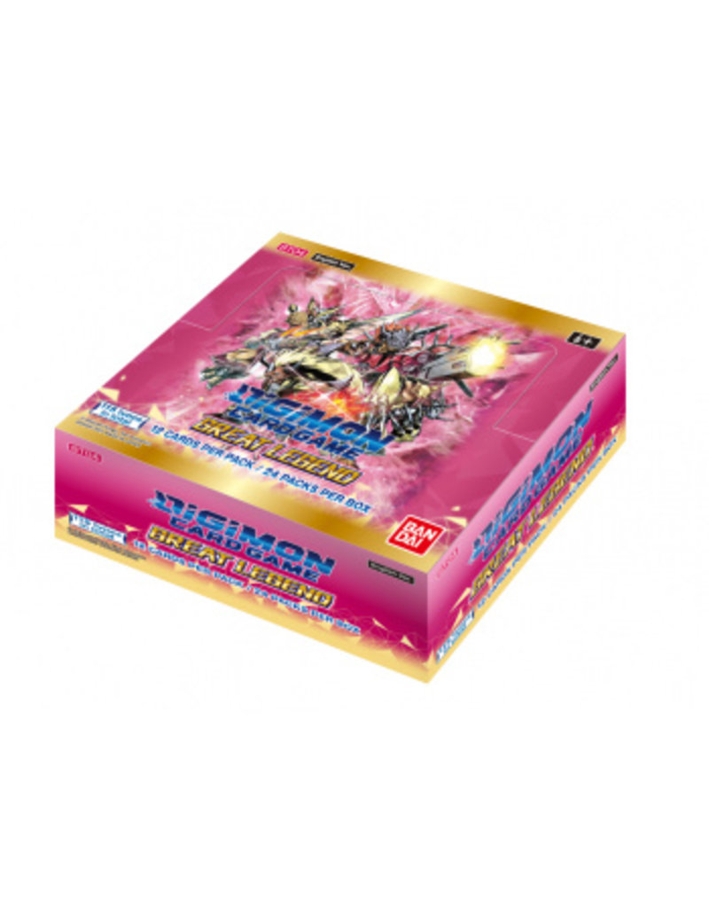 Digimon Digimon Card Game - Great Legend Booster Box BT04