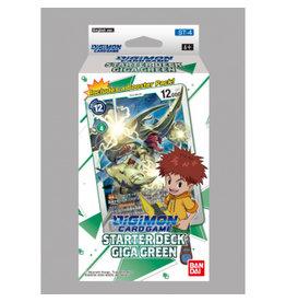 Digimon Digimon Card Game - Starter Deck Giga Green ST-4