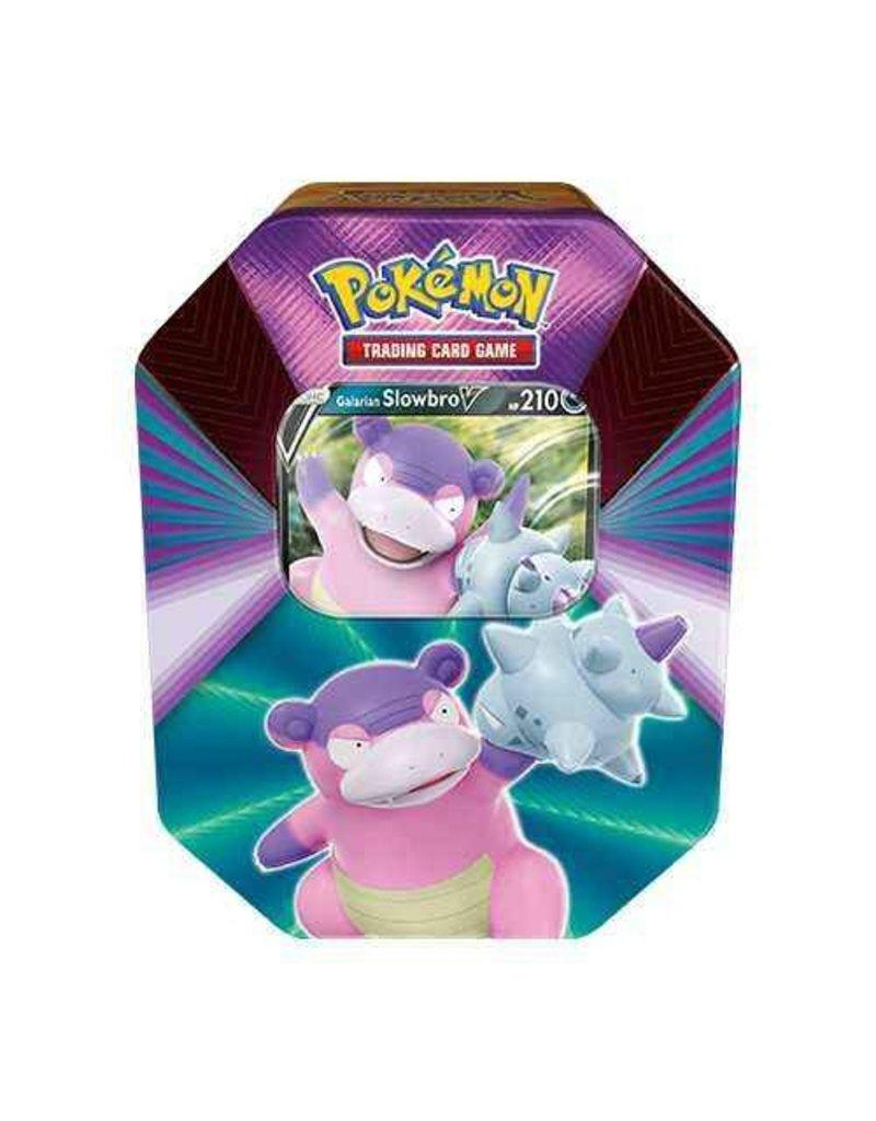 The Pokémon Company Pokemon Sword & Shield Spring Tin V Forces Galarian Slowbro V