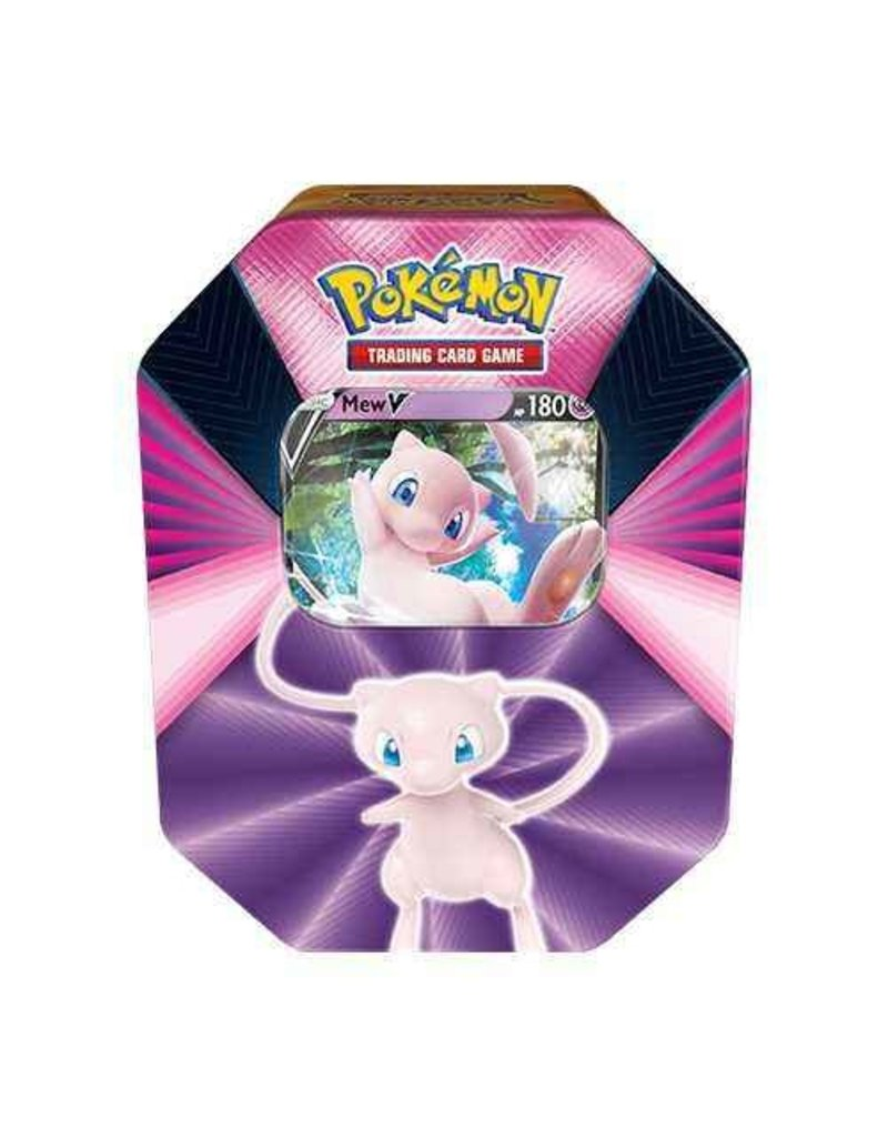 The Pokémon Company Pokemon Sword & Shield Spring Tin V Forces Mew V