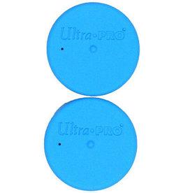 Ultra Pro Tube Caps Bright Blue Ultra Pro