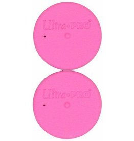 Ultra Pro Tube Caps Pink Ultra Pro