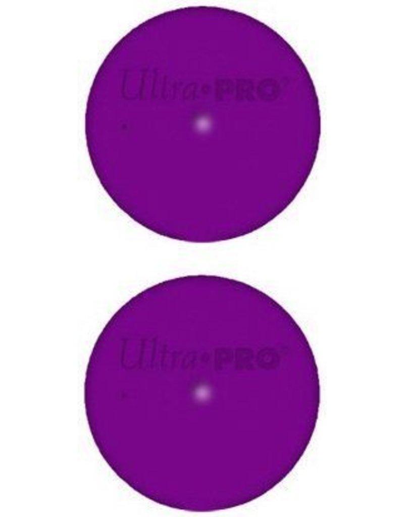 Ultra Pro Tube Caps Purple Ultra Pro