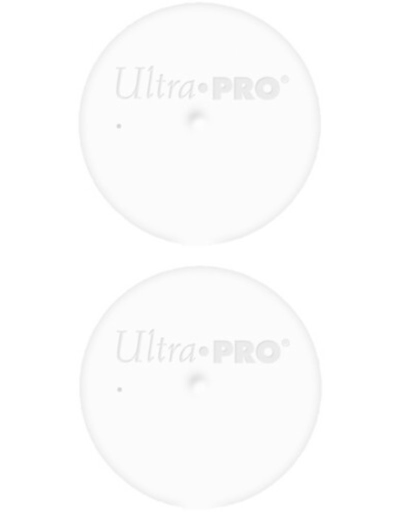 Ultra Pro Tube Caps White Ultra Pro