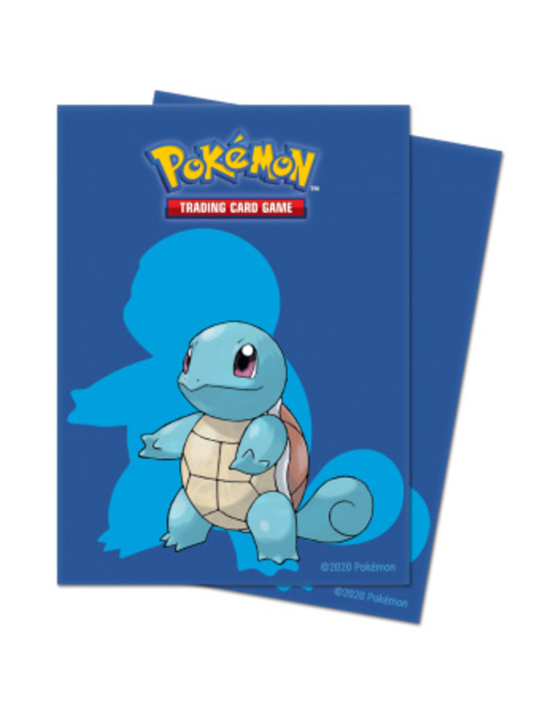 Ultra Pro Pokemon Squirtle Sleeves Ultra Pro