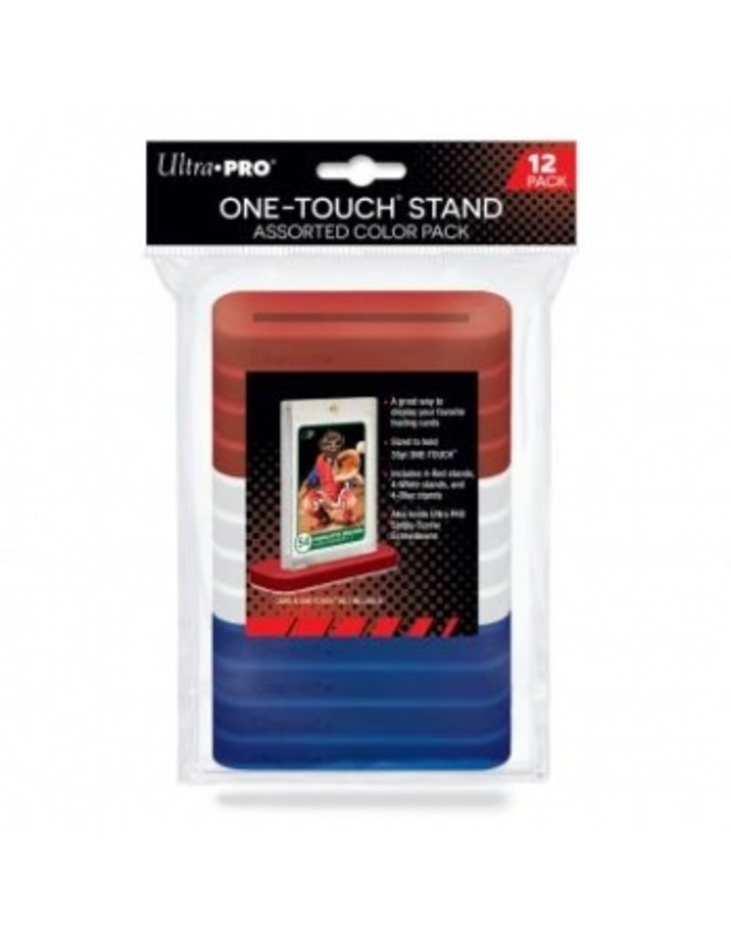 Ultra Pro One-Touch Stand 35pt Assorted Color 12-Pack Ultra Pro