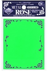 KMC KMC Sleeves Standard Metal Rose Green
