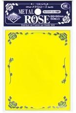 KMC KMC Sleeves Standard Metal Rose Yellow