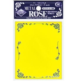 KMC KMC Sleeves Standard Metal Rose Yellow