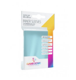 Gamegenic Gamegenic - Inner Sleeves Standard Sized - Clear (100 Sleeves)