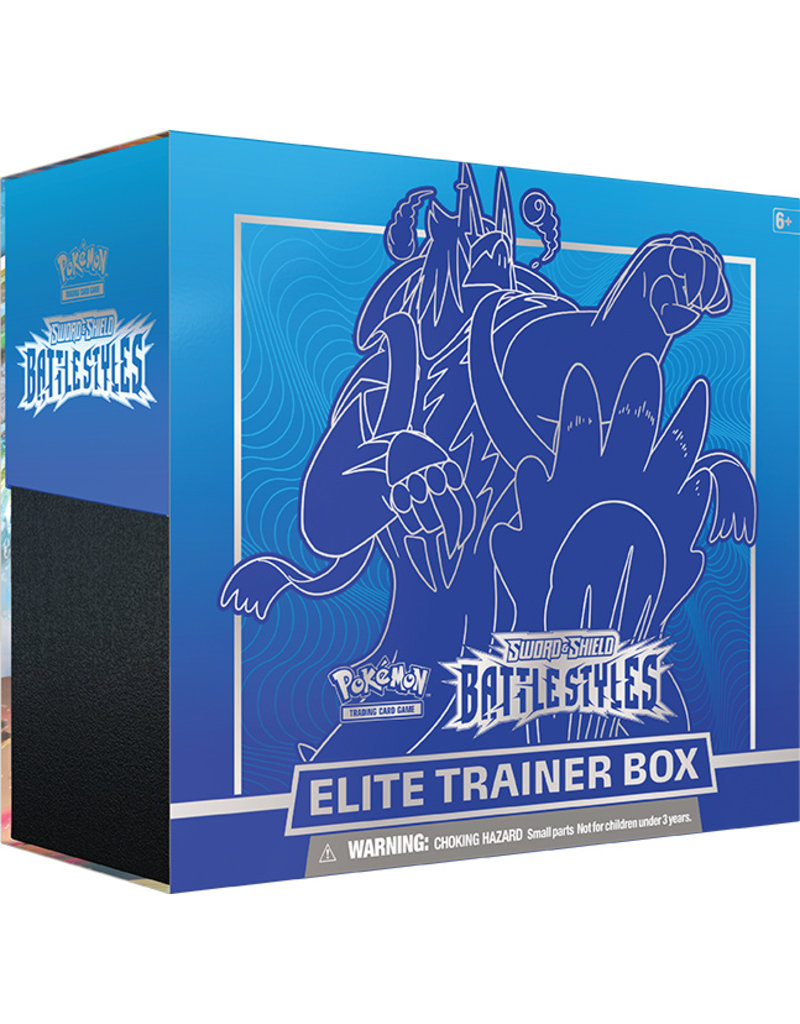 The Pokémon Company Pokemon Sword & Shield Battle Styles Elite Trainer Box Blue