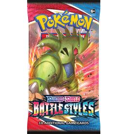 The Pokémon Company Pokemon Sword & Shield Battle Styles Booster Pack