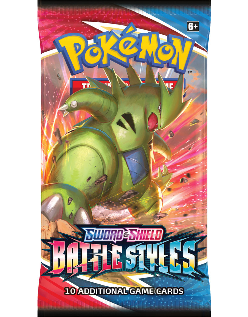 The Pokémon Company Pokemon Sword & Shield Battle Styles Booster Pack