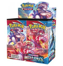 The Pokémon Company Pokemon Sword & Shield Battle Styles Booster Box