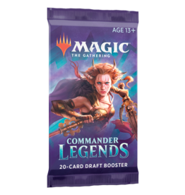 Magic The Gathering Commander Legends Draft Booster Pack MTG