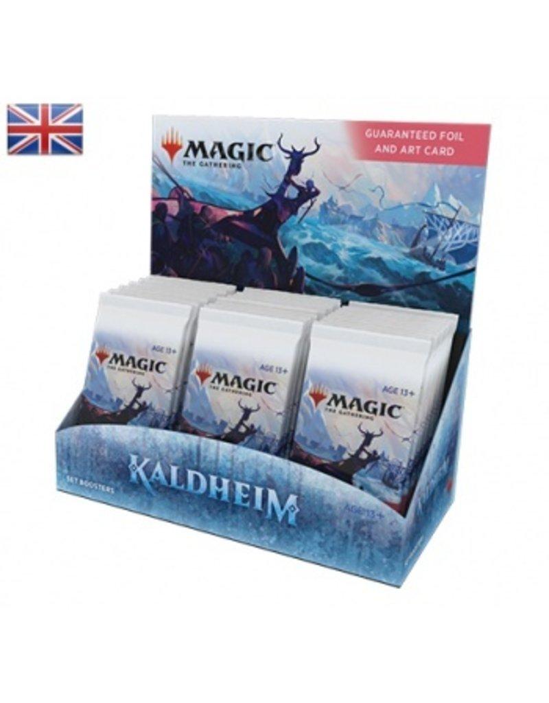 Magic The Gathering Kaldheim Set Booster Box MTG
