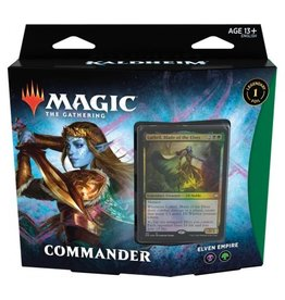 Magic The Gathering Kaldheim Commander Deck Elven Empire MTG