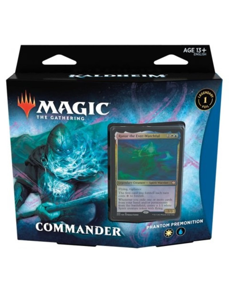 Magic The Gathering Kaldheim Commander Deck Phantom Premonition MTG