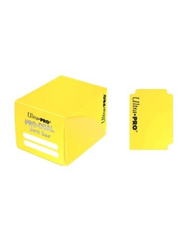 Ultra Pro Pro Dual Small Yellow Deck Box Ultra Pro