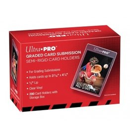 "Ultra Pro Semi Rigid 1/2"" Lip Tall Sleeves Ultra Pro"