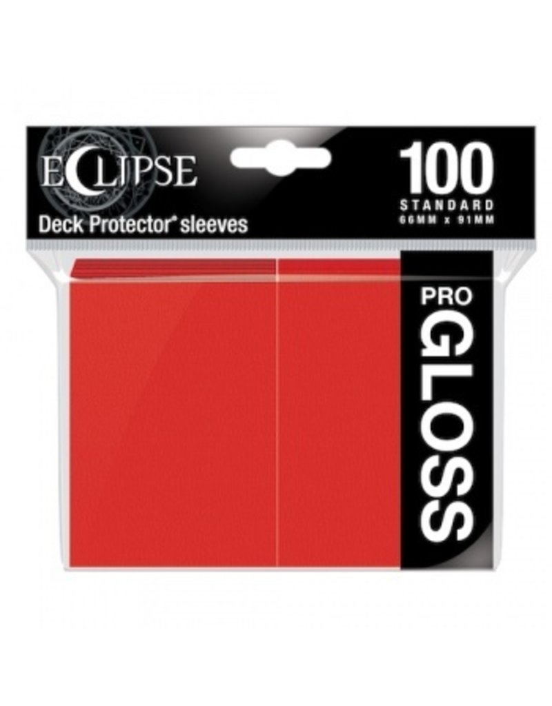Ultra Pro Eclipse Standard Gloss Sleeves Apple Red Ultra Pro