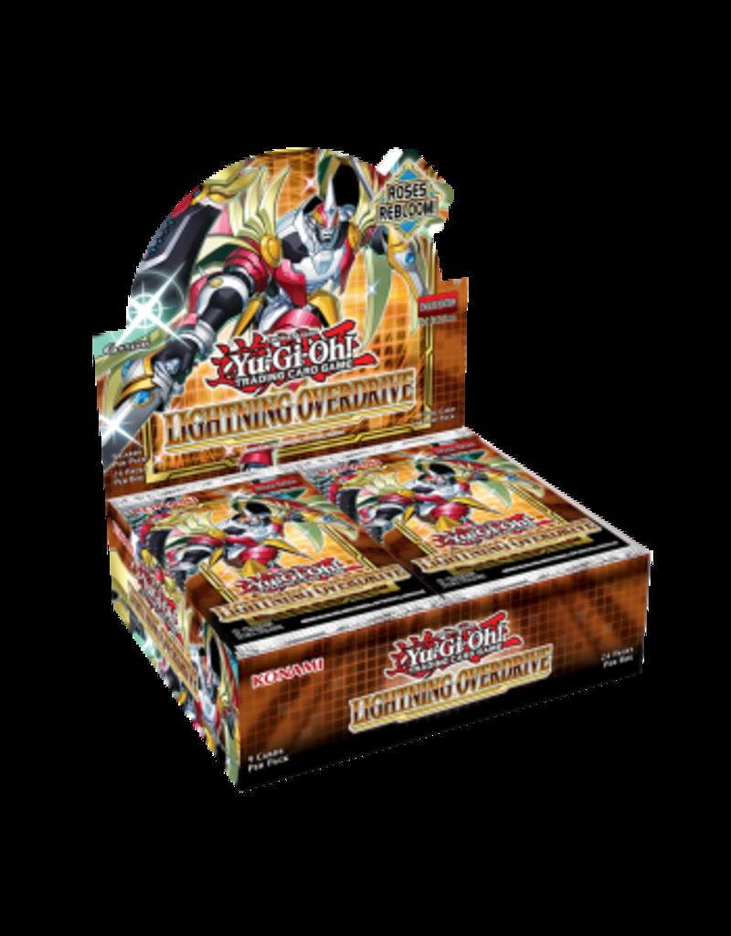 Yu-Gi-Oh! Lightning Overdrive Booster Box Yu-Gi-Oh!