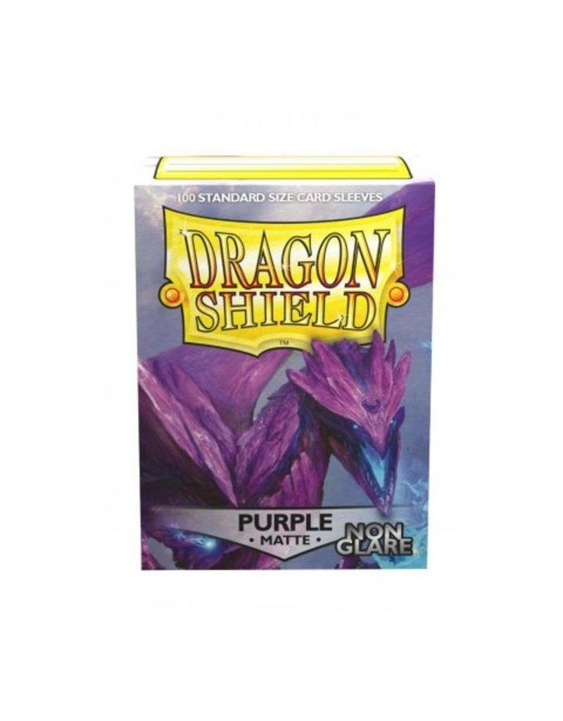 Dragon Shield Dragon Shield Standard Non Glare Sleeves -  Purple (100)
