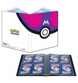 Ultra Pro Pokemon 4-Pocket Portfolio - Master Ball Ultra Pro